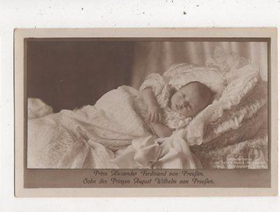 Prinz Alexander Ferdinand Von Preussen RP Postcard Germany Royalty 042b