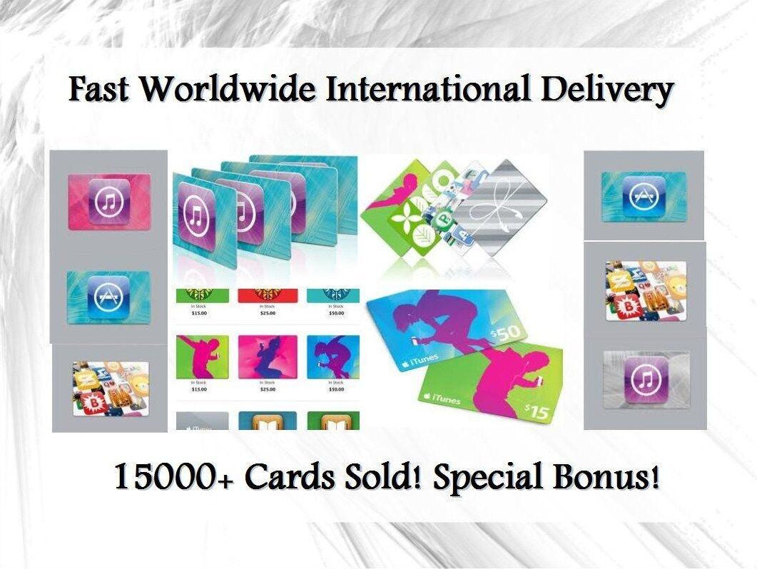 Apple Itunes Usa $100 Card | Worldwide | Fast | International Us 100 Gift