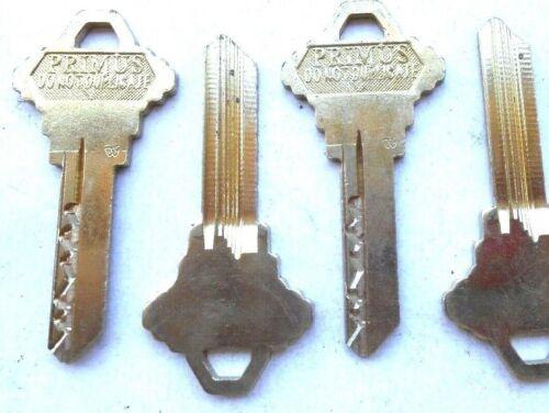 (4)  Schlage Primus   Key Blanks