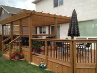 Book your Decks and Fences early!! Free estimates!