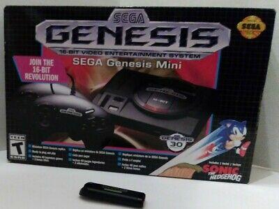 Sega Genesis mini 6200+ games 32gb CIB Excellent Condi NES/SNES/Genesis/SMS More