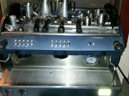 Commercial Saeco 2 group coffee machine Newcastle 2300 Newcastle Area Preview