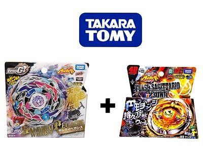 Takara Tomy Zero-G Samurai Pegasus BBG26 W105R2F + BB126 Flash Sagittario US Sel - Cheap Christmas Toys