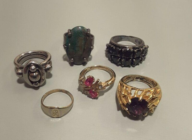 Rings costume jewelry