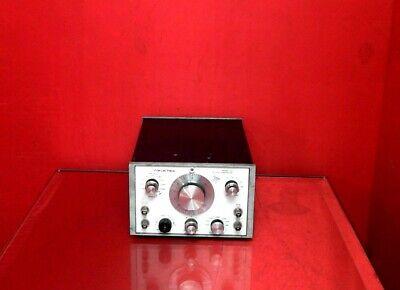Wavetek 142 Hf Vcg Signal Generator .001hz To 10mhz Output Pwr -60 To 0 Dbm