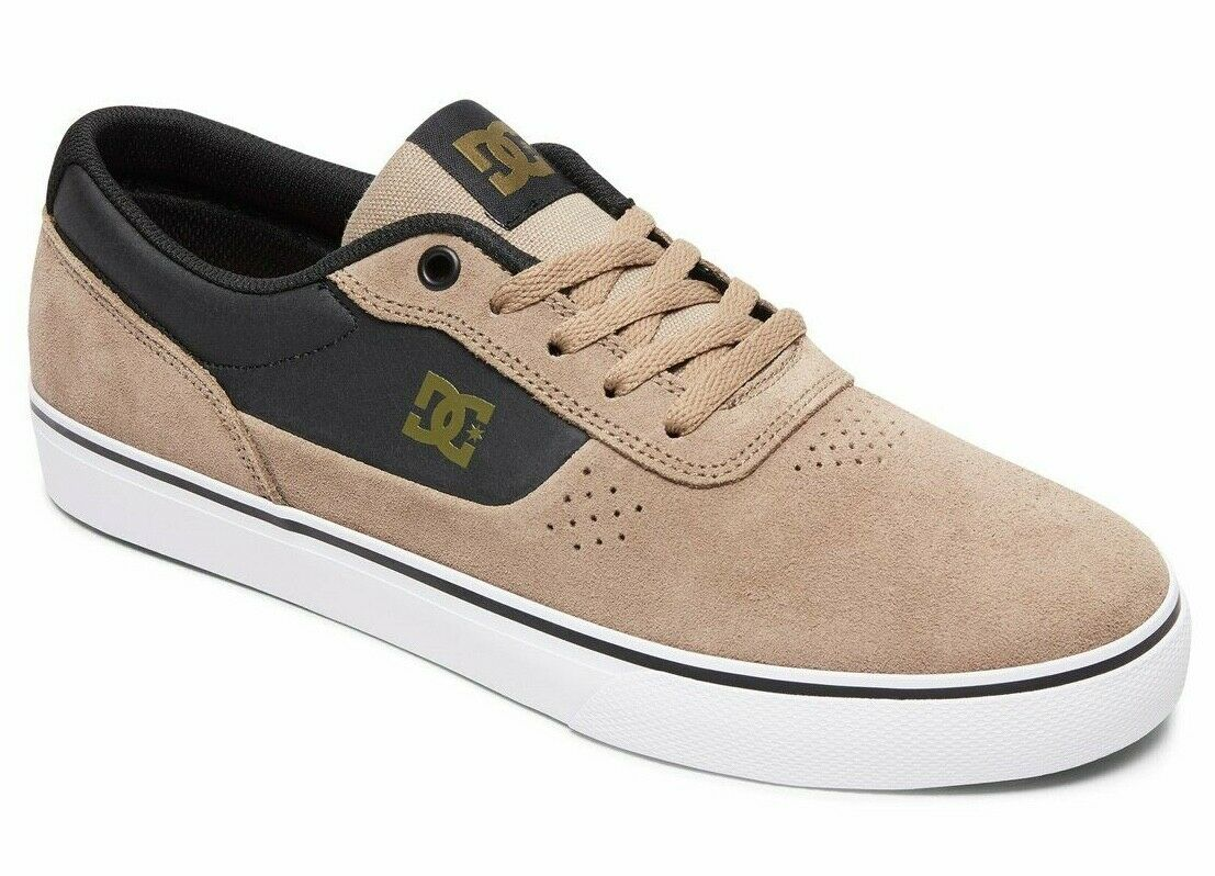 DC Shoes Men's Switch S Skate Shoes Timber 11