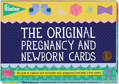 Milestone The Original PREGNANCY AND NEWBORN CARDS Toddler/Child Gift Baby
