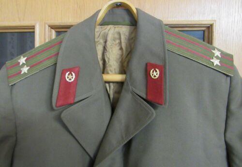 SOVIET MILITARY UNIFORM CLOAK LIEUTENANT COLONEL INTERNAL TROOPS size 50-4 SCARF