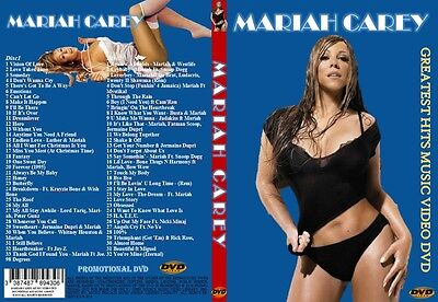 MARIAH CAREY GREATEST MUSIC VIDEO's 2 DVDs BOX SET SPECIAL PROMO EDITION 2015