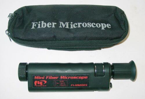 FIS Mini Fiber Microscope F1-MS200X, F1MS200X