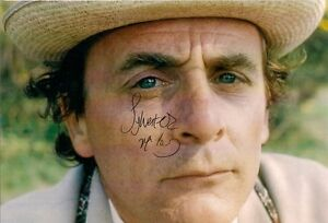 SYLVESTER-McCOY-SEVENTH-7th-DOCTOR-WHO-SIGNED-AUTOGRAPH-6-x-4-PRE-PRINTED-PHOTO