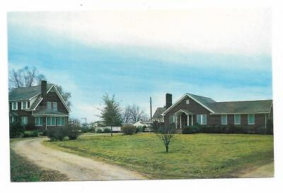 Vintage Arkansas Chrome Postcard University Cotton Branch Station Marianna Rex