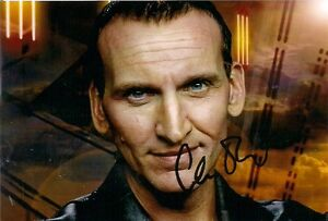 CHRISTOPHER-ECCLESTON-9th-DR-WHO-SIGNED-AUTOGRAPH-6-x-4-inches-PRE-PRINTED-PHOTO