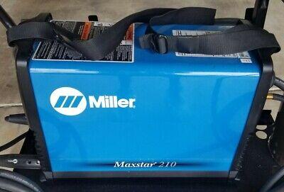Miller Maxstar 210 Welder Model 907683 W Full Kit