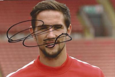 BARNSLEY: CONOR HOURIHANE SIGNED 6x4 PORTRAIT PHOTO+COA