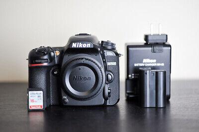 Nikon D7500 20.9 MP DX DSLR Camera - 2,846 Clicks - US Model!