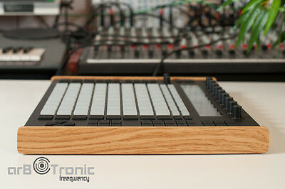 Ableton Push 1 Echtholz Seitenteil Wooden Side Panel End Cheeks
