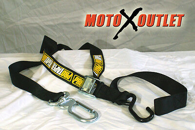 Pro Taper Tiedowns Motorcycle Tie Downs Carabiner Soft Hook Dirt Bike Atv (Soft Hook Tie Downs)
