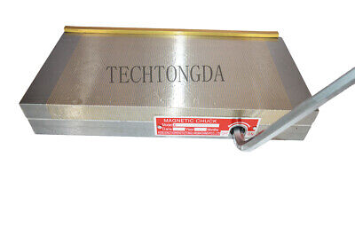 """4x7 Permanent Magnetic Chuck for Grinding Machine Durable 6x6 5x10 6x18/"""" .."""