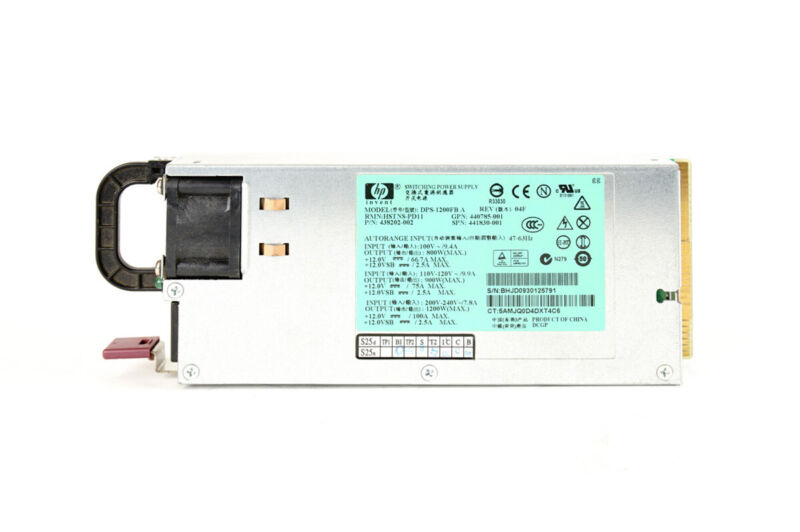 HP DPS-1200FB 1200W PSU Power Supply+ BREAKOUT BOARD + 12 Cables | Fast Ship,...