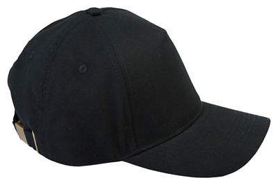 Big Accessories 5 Panel Structured 100% Cotton Brushed Twill