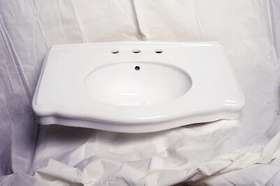 bathroom console darbyshire sink 8 widespread white