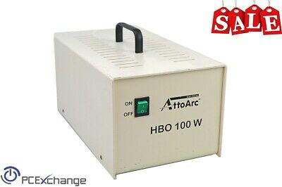 Carl Zeiss Attoarc Hbo 100w Microscope Lamp Control Illumination Power Supply