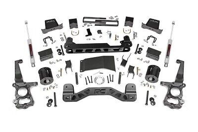 """6"""" Rough Country Lift Kit 2015-19 Ford F-150 4x4 -"""