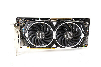 MSI Radeon RX 580 8GB Armor OC Graphics Card | Fast Ship, Cleaned, Tested!