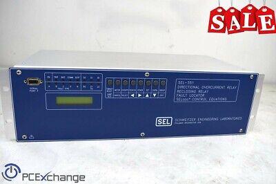 2 0351S61H4455421 Schweitzer SEL-351S Relay Meter Control Fault Locator