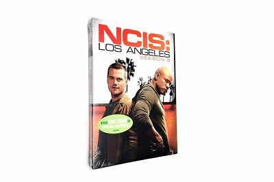 Ncis Los Angeles The Complete Eighth Season 8  Dvd  2017  6 Discs  Us Seller New