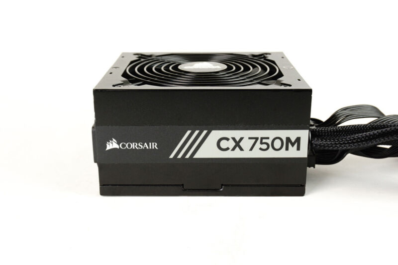 Corsair CX750M 750W Power Supply PSU w/ All Cables