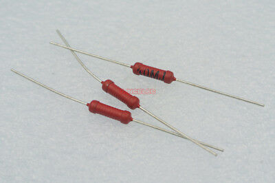 1watts 10m High Voltage Glass Glaze Resistors 10mj 1500v X25pcs