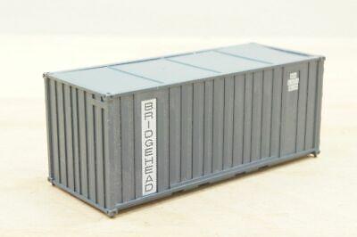 """ROCO 1 Stück 20 ft (Fuß) Wechselcontainer """" BRIDGEHEAD 2434735 """" Container 1:87"""