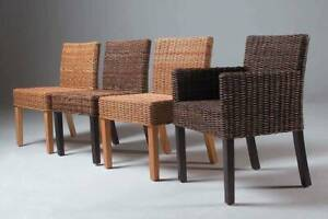 FREDY DINING CHAIR | NATURAL RATTAN
