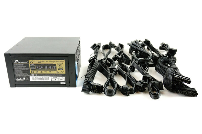 Seasonic X-850 SS-850KM3 Gold 850W Power Supply PSU - New, OEM