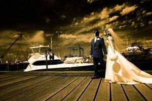 ~ RRP $7000 ~ Mariana Hardwick Wedding Dress Bodice & Veil ~ St Kilda East Glen Eira Area Preview