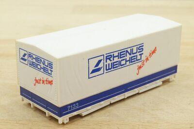 """1 Stück 20 ft (Fuß) Container Wechselpritsche """"RHENUS WEICHELT Wechselcontainer"""