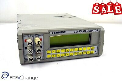 Omega Cl8500 High Accuracy Multifunction Voltage And Current Calibrator
