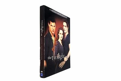 Twilight Saga 5-Movie Collection (DVD, 2016, 2-Disc Set,)