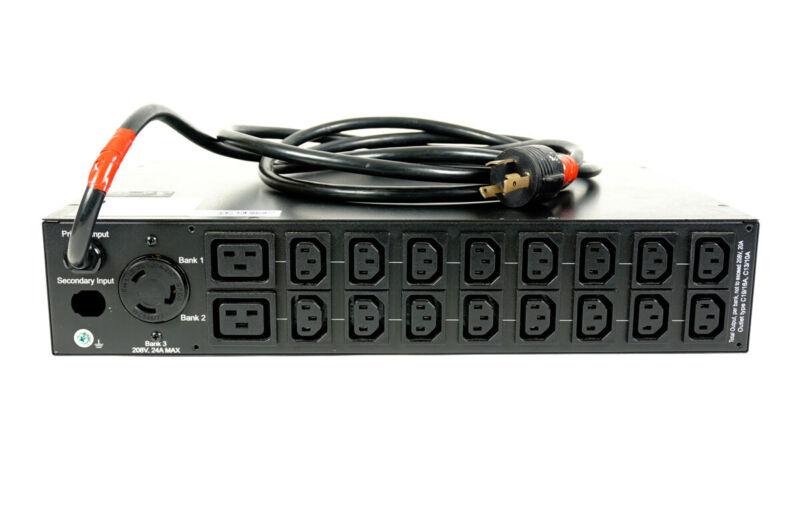 Tripp-Lite PDUMH30HVAT 200-240V 24A Metered Power Distribution Unit PDU 19 Ou...