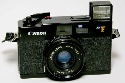 Canon A35 F, 35mm rangefinder film camera F 1:2.8 fully functioning