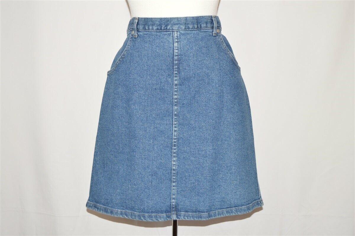 Made in Canada French Dressing Denim Skirt