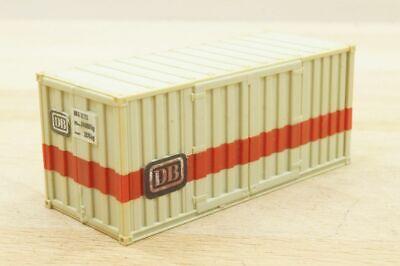 "1 Stück 20 ft (Fuß) Wechselcontainer "" DB N° 612173 "" Container 1:87"