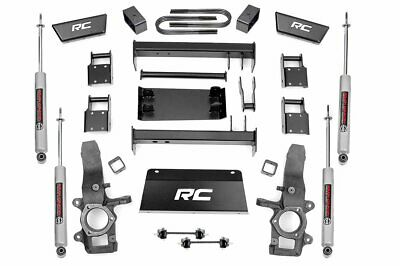 """Rough Country 5"""" Lift Kit (fits) 1997-2003 Ford F150 4WD w/N3 Shocks Suspension"""