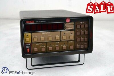 Keithley 705 Scanner With 2x 7052 Matrix Card Module - For Partsrepair