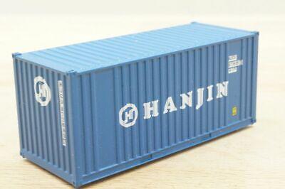 "1 Stück 20 ft (Fuß) Wechselcontainer "" HANJIN "" Container 1:87"