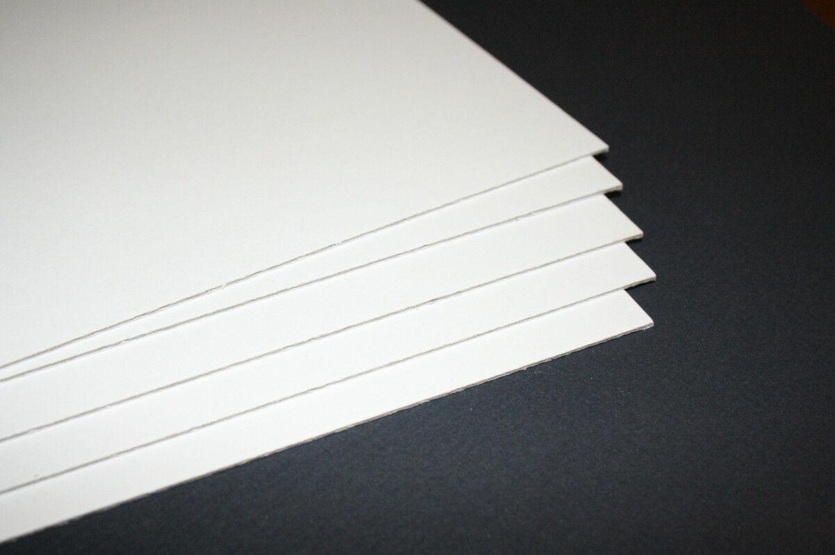 Rückwand Karton in allen Größen säurefrei 1,75mm für Bilderrahmen Passepartout