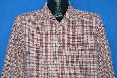 retro OSH KOSH CLASSIC RED WHITE FLANNEL JAPAN 50s REPRODUCTION SHIRT MEDIUM M Classic 50's Retro Shirt