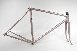 Chesini Rennrad Stahl-Rahmen,Columbus Aelle, Campagnolo Ausfallenden,RH-53cm (26
